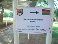 Sepsis bundle Malawi