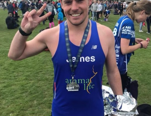 He's Running For her life Part 2: Congratulations Dr James!