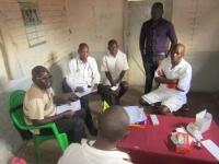 Yolam volunteering at Chitipa Prison